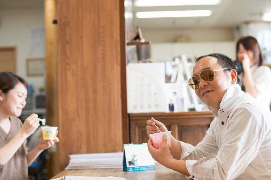 アイスミィーティングを推奨する鈴木専務の実態とは?