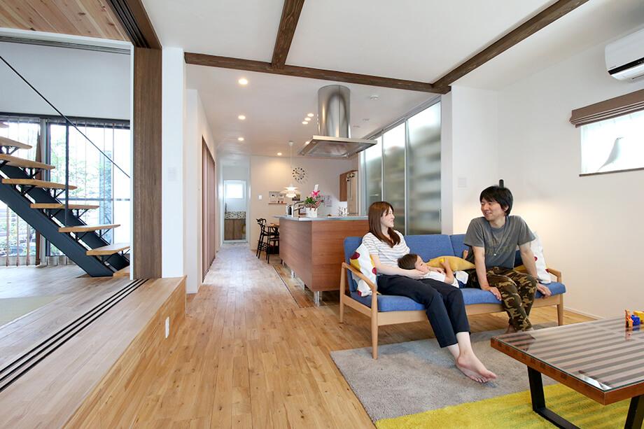 注文住宅レポート 掛川市細田H様邸「奥行を有効利用した中庭のある家」