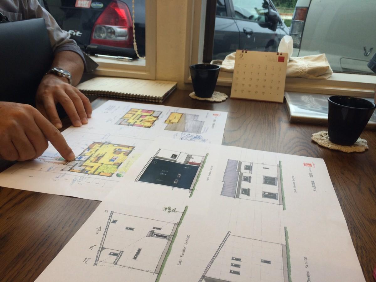 設計士と作る家