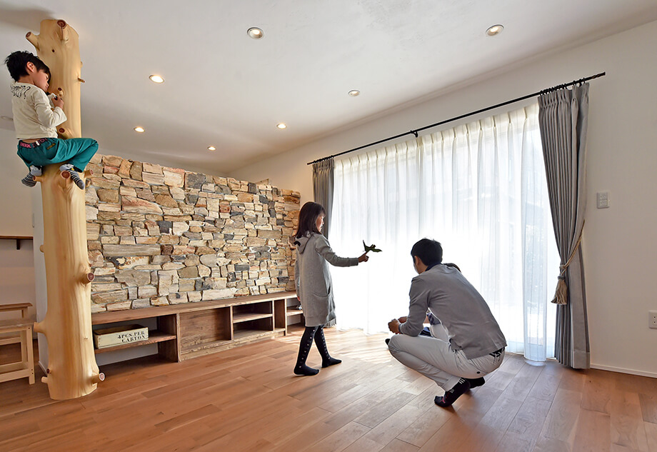 注文住宅レポート 掛川市緑ヶ丘Y様邸「雨の日も遊び回れるお家」