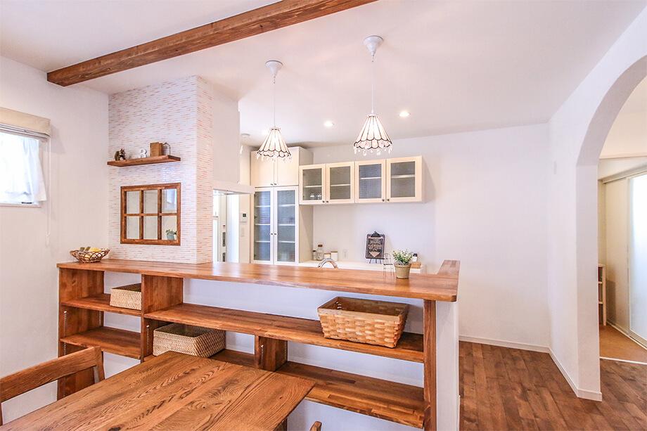 注文住宅レポート#022 掛川市家代の里Y様邸 「タイルとチェッカーガラスの可愛いお家」