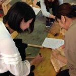 木工教室の準備が進んでいます