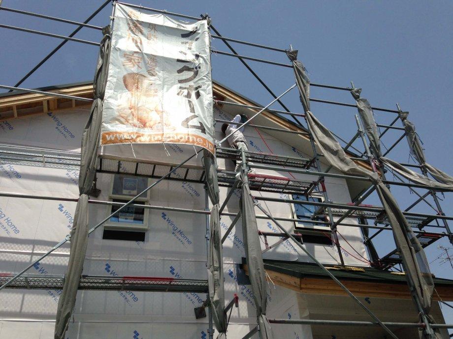 お家が完成するまでの様々な現場シーンをご覧いただけます