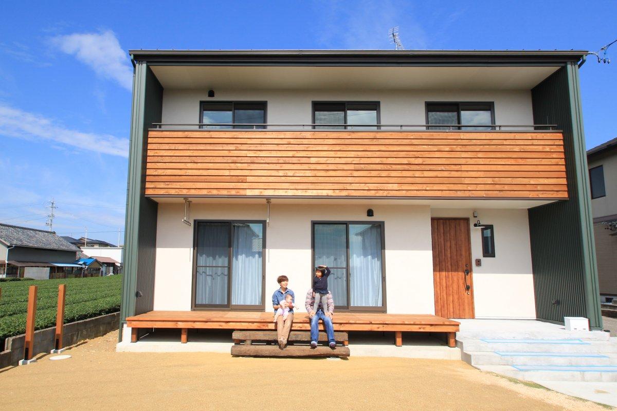 注文住宅レポート#003 菊川市潮海寺Y様邸 「自然の中でラフに暮らす」