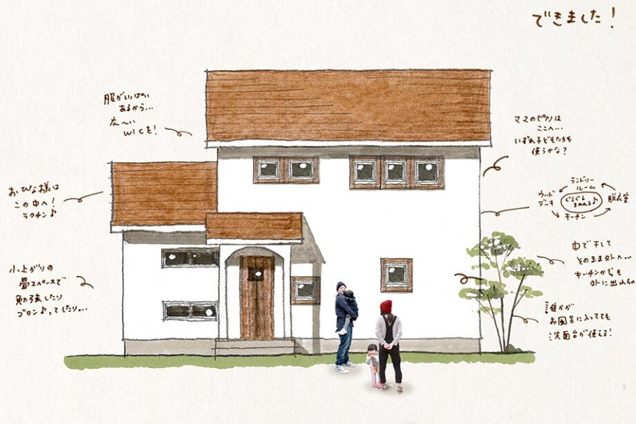 【開催しました♪】 完成見学会4月23日24日(土日)  掛川市家代の里Y様邸