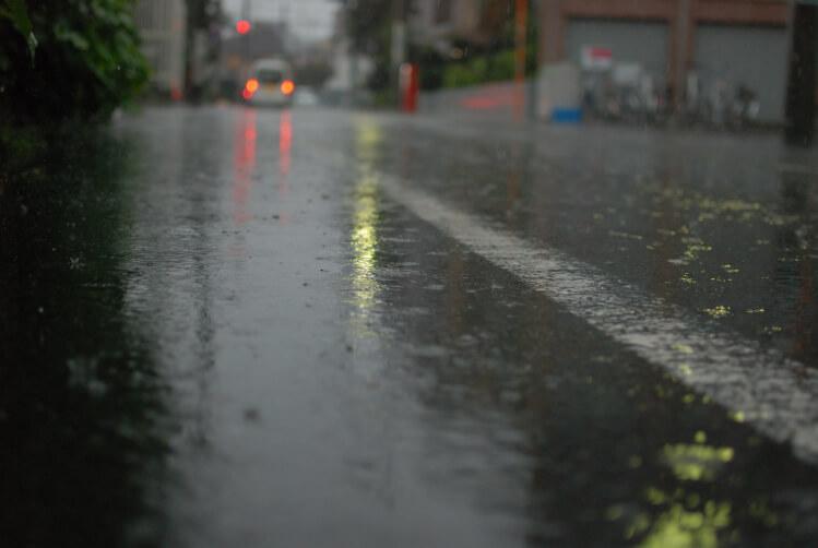 雨の日にする土地探しのポイントとは?