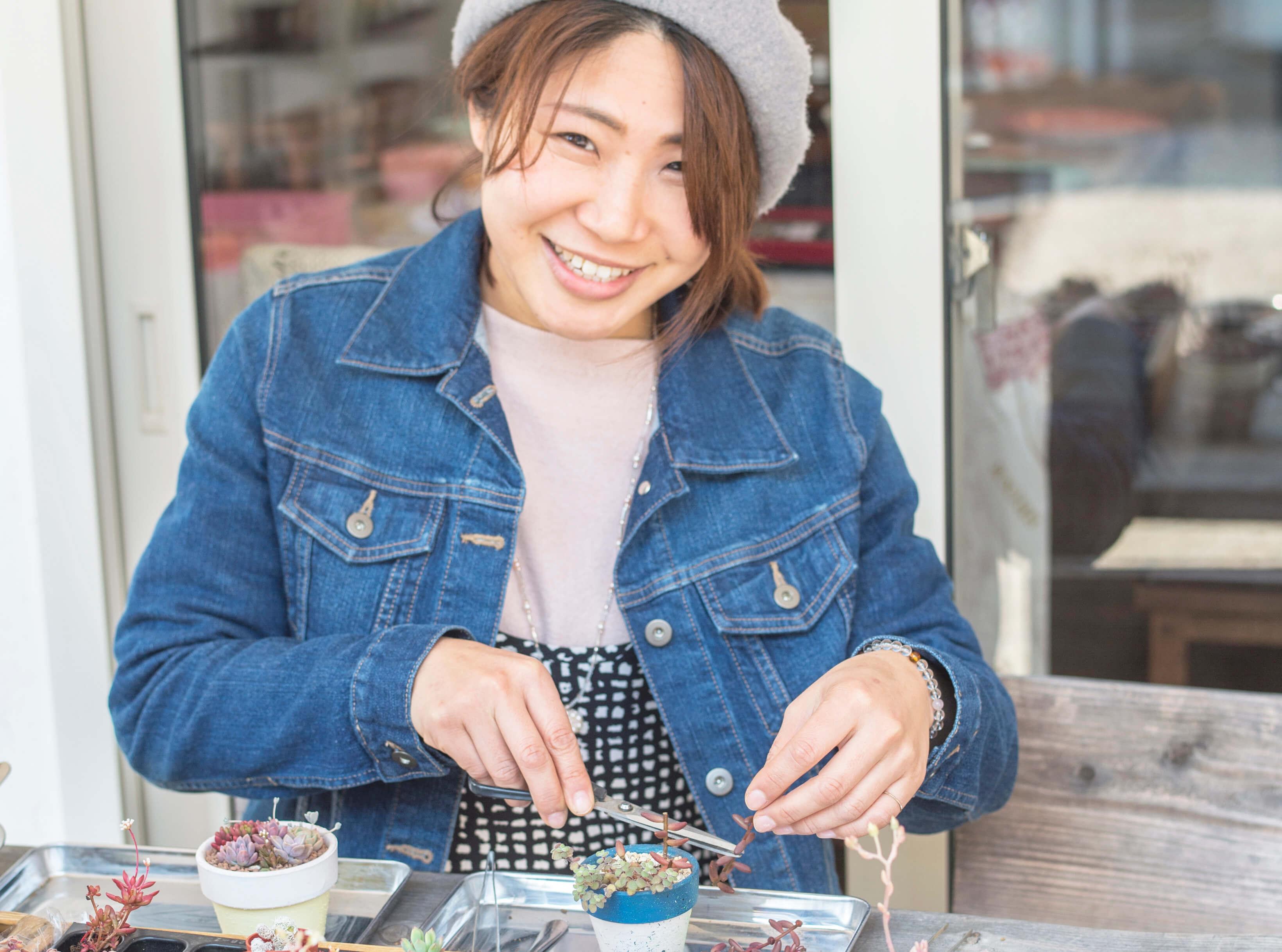 菊川シェアショップevent! ~多肉植物とLilyさん~