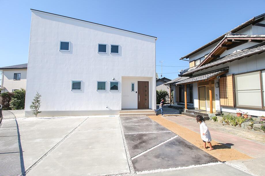 注文住宅レポート#023 掛川市千浜S様邸 「実家の隣に建つファミリークロークのあるお家」