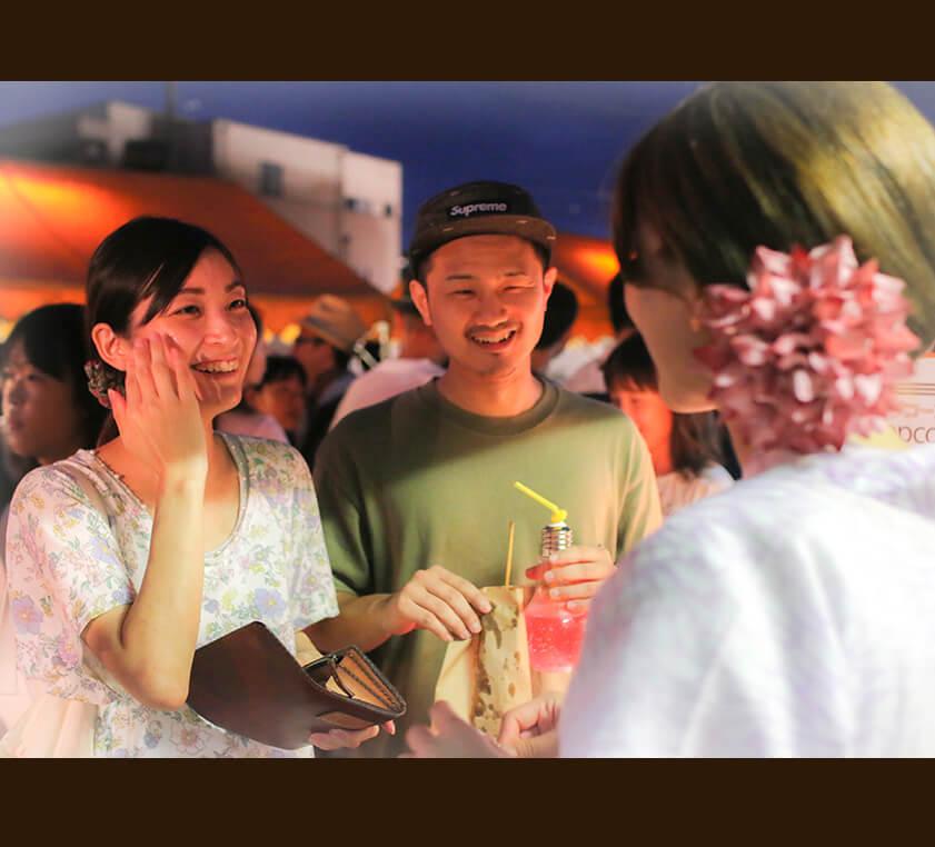 地元の夏☆ 菊川の夜店市2017へ参加しました*