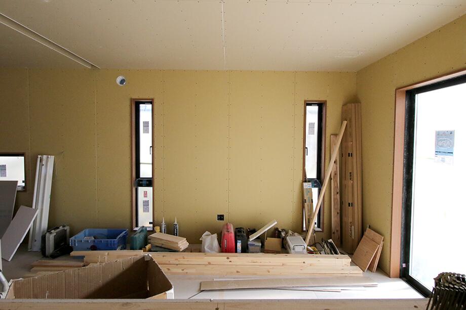 【現場中継!】外壁の塗り壁施工がスタート!−掛川市中S様邸−