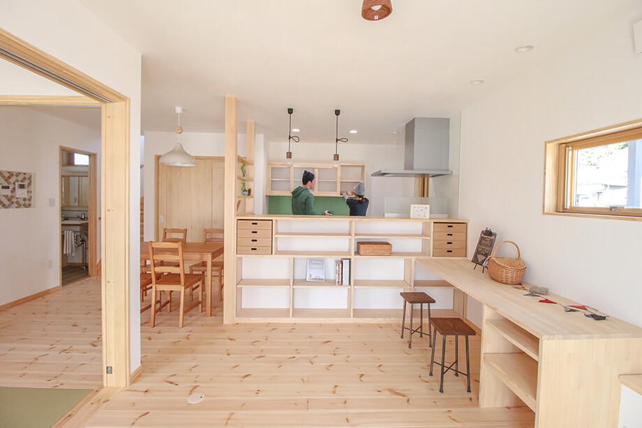 「大収納と動線アイデアがつまった35坪の無添加の家」 菊川市加茂O様邸 注文住宅レポート#037