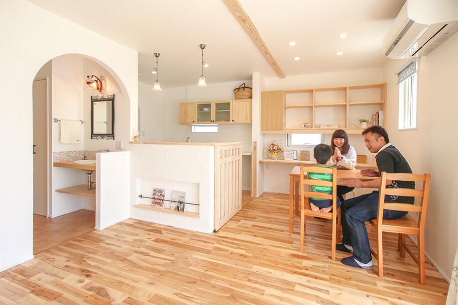 「動線に合わせた収納アイデアがつまったお家」 菊川市加茂D様邸 注文住宅レポート#039