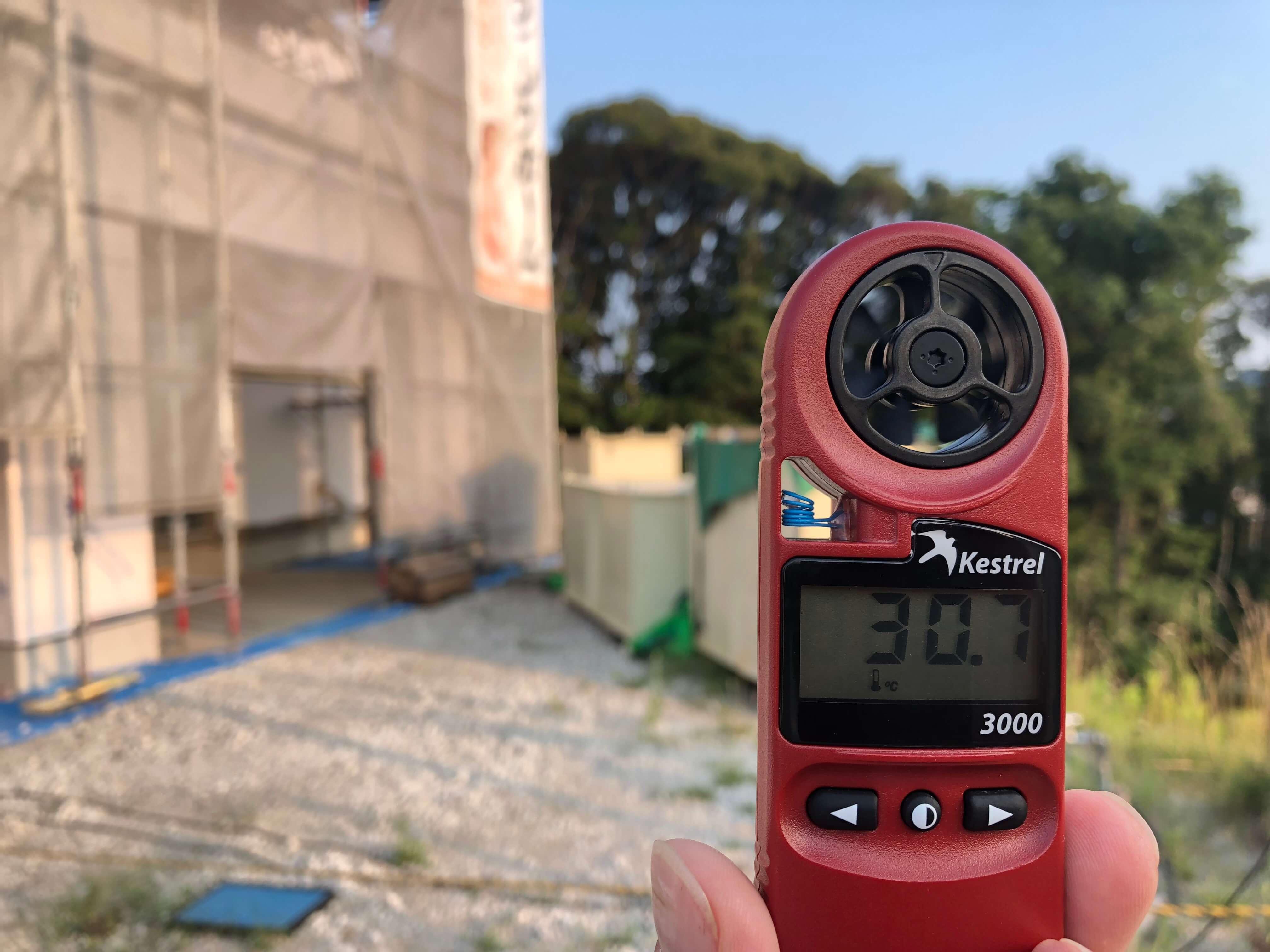 あんまり暑いんでいろんな温度を測ってみた!