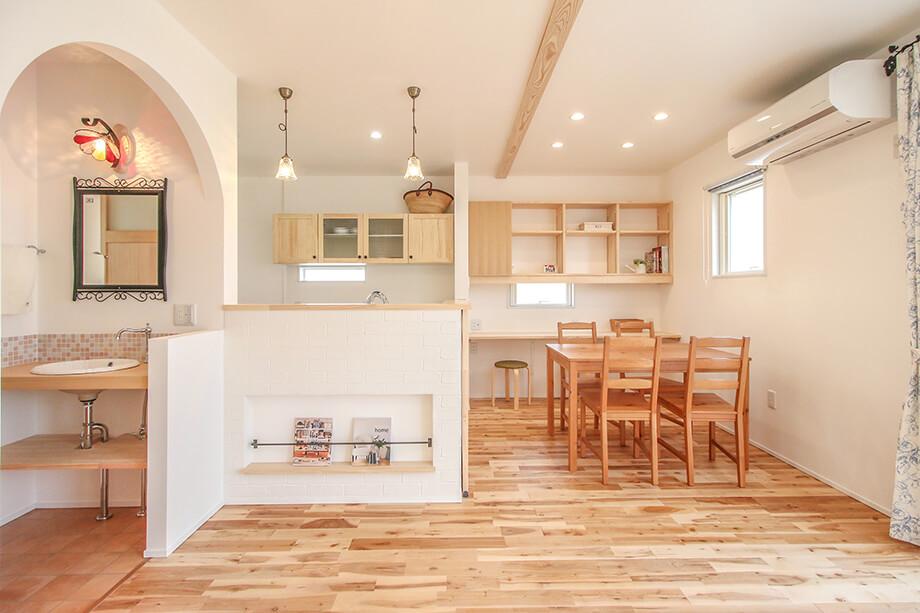 注文住宅レポート#039 菊川市加茂D様邸 「帰宅動線に合わせた収納アイデアがつまったお家」