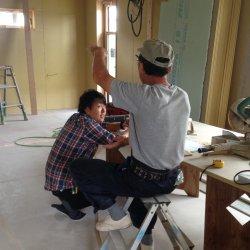 大工さんと監督の打ち合わせ☆掛川市中T様邸