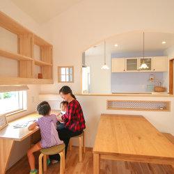 「6人家族が仲良く暮らす ときめく二世帯住宅」 掛川市大池G様邸 注文住宅レポート#043