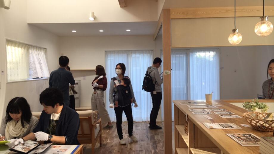 見学会を迎えました*-掛川市城西N様邸-