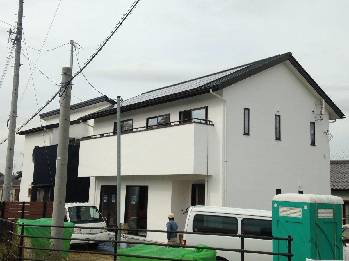 漆喰塗りがはじまりました☆ 菊川市加茂M様邸