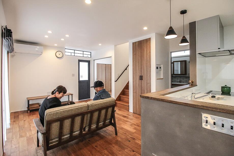 注文住宅レポート#044 菊川市加茂Y様邸 「アイアン素材やモノトーンインテリアを楽しむお家」