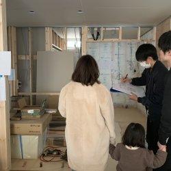 床がはられてる♪♪ ‐菊川市加茂M様邸‐