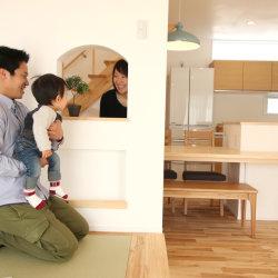 家族みんなが笑顔で暮らせるお家に。。。* -御前崎市白羽O様邸- お引渡し