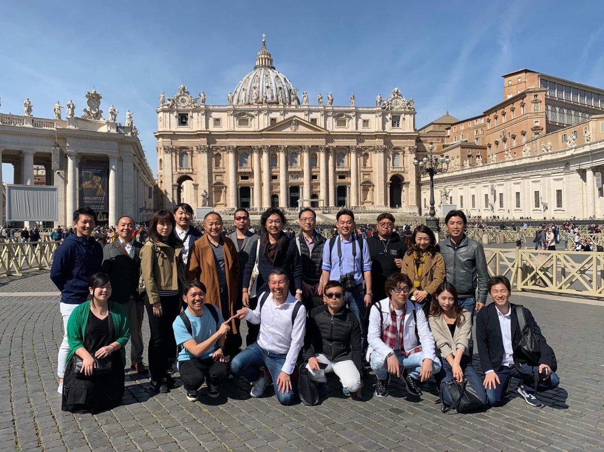 イタリア視察へ…inローマ