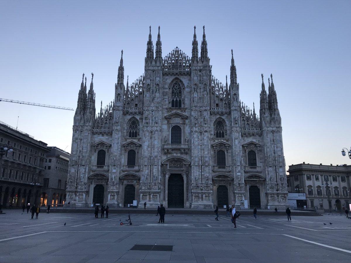 イタリア視察へ…inミラノ