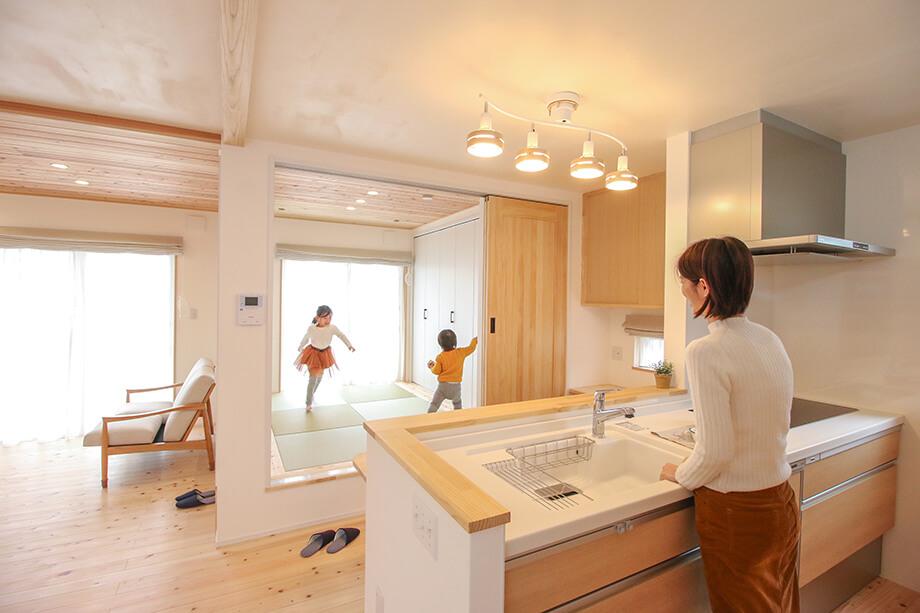 注文住宅レポート#050 菊川市青葉台I様邸 「子育て動線と大収納がある自然素材のお家」