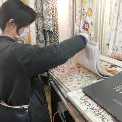 お気に入りのカーテン選び* -菊川市半済N様邸-