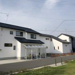 漆喰のお家が並びました✧ -菊川市加茂M様邸-