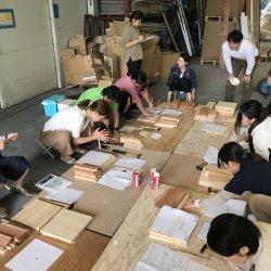 木工教室みんなで試作☆