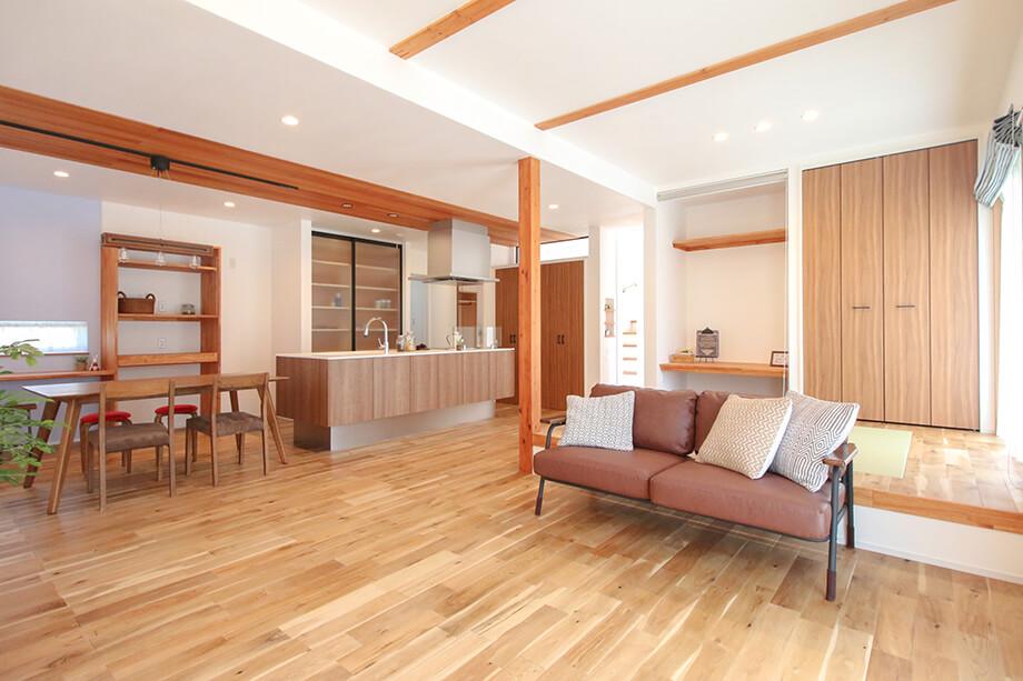 注文住宅レポート#053 御前崎市佐倉S様邸 「時短&収納アイデアがつまったお家」