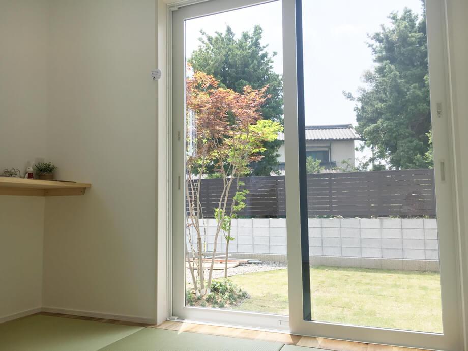 お庭の景色を楽しみながら。。。* -菊川市半済N様邸- 見学会を行っています!