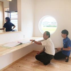 社内の竣工チェックがありました* -御前崎市新野K様邸-