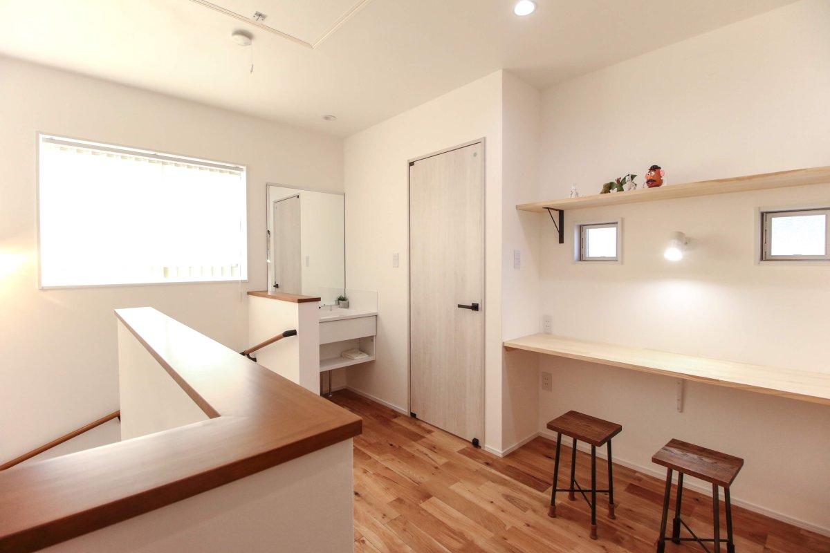 設備紹介☆トイレ&洗面スペース(2階)