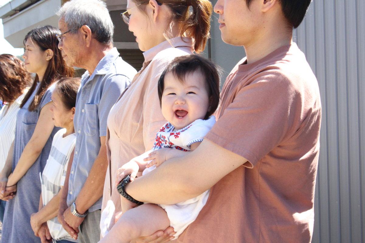 ご実家の敷地内に建つ「ハナレ」 -掛川市初馬I様邸- 地鎮祭