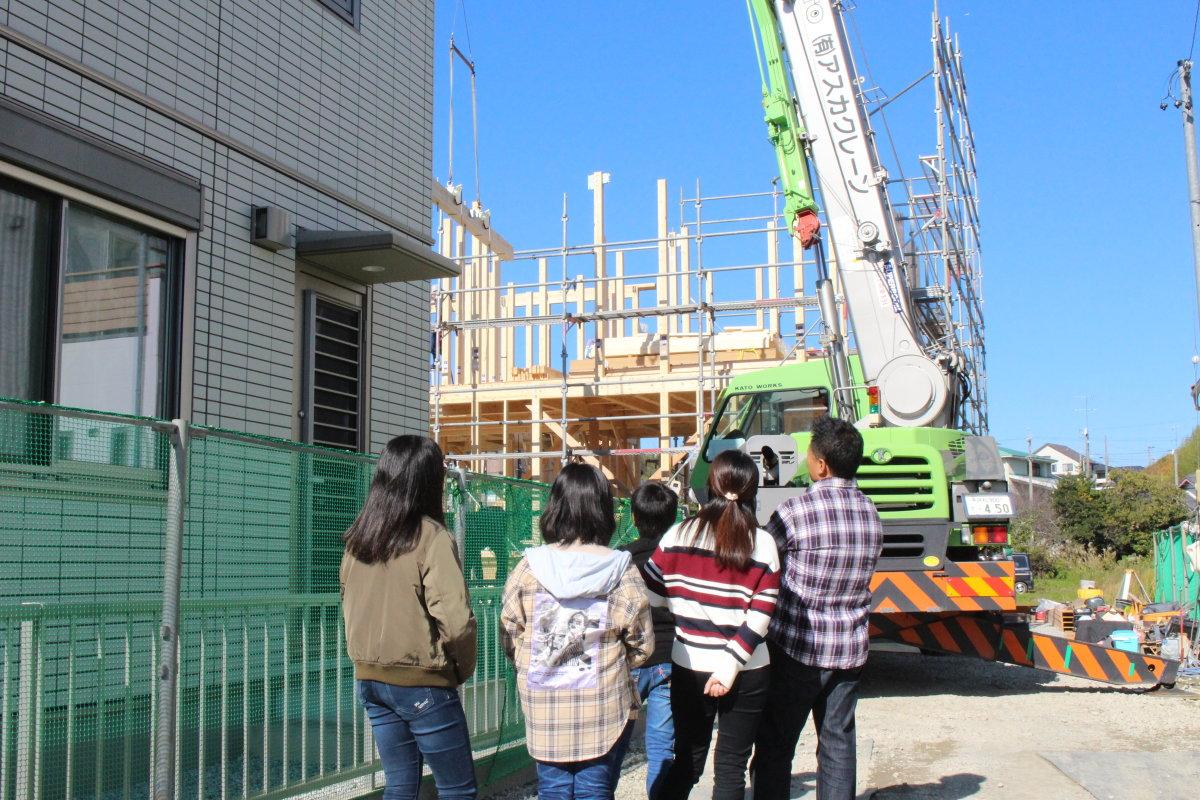 子供たちに「家」の思い出を -掛川市宮脇A様邸- 祝上棟
