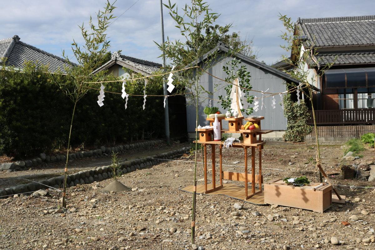 お二人の記念日に。。♡ -島田市野田T様邸- 地鎮祭