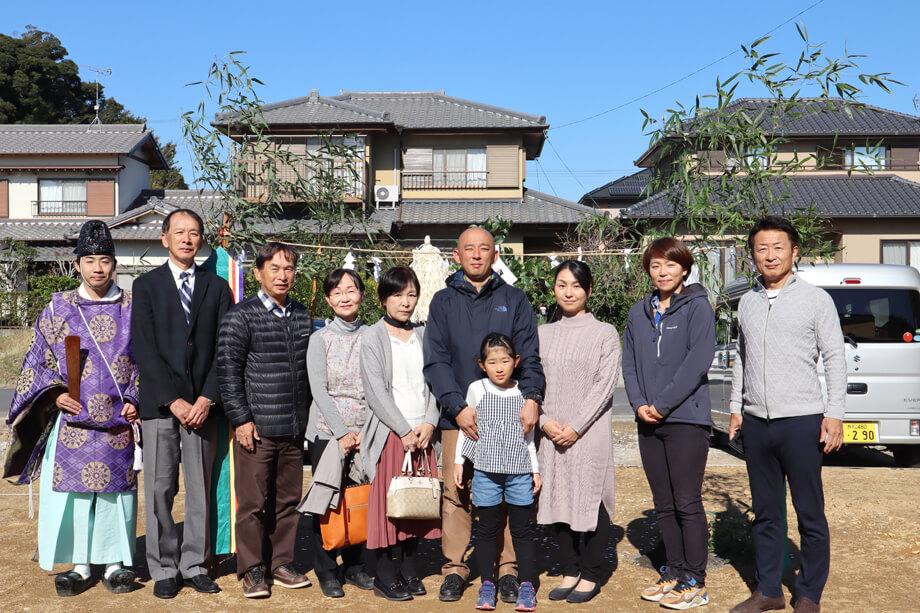 地鎮祭を行いました✧ -菊川市柳M様邸-