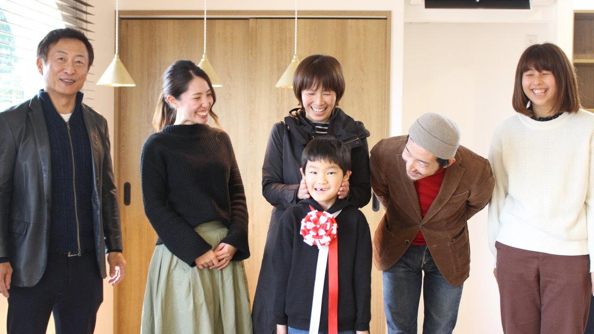 みんなが楽しく暮らせる家に -菊川市加茂K様邸- お引渡式
