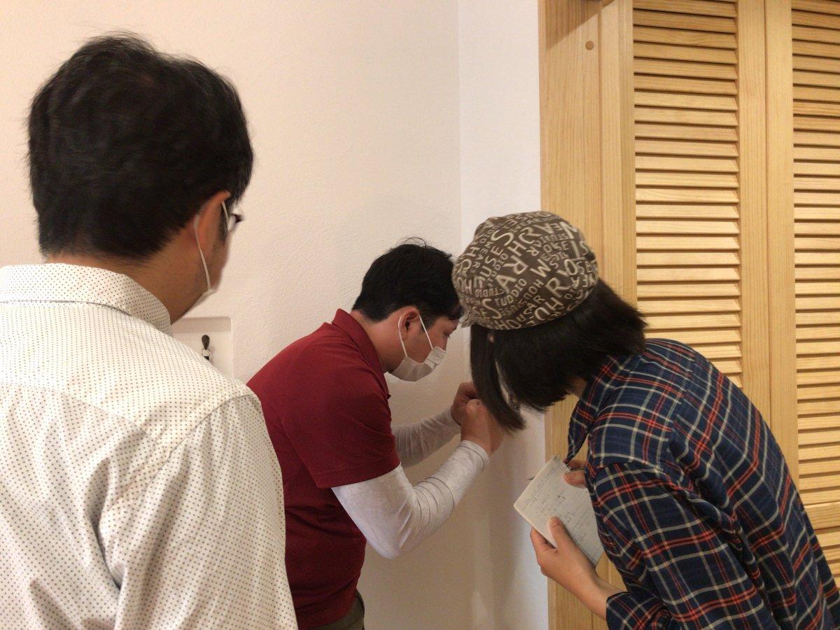 暮らし始めて1ケ月 -掛川市和光K様邸1ヶ月点検-