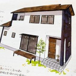 漆喰塗り体験を♪ ー菊川市加茂S様邸ー 漆喰手形
