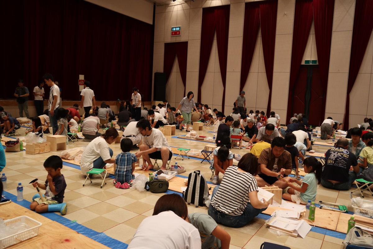 夏休みワクワク木工教室☆