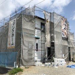 壁張りと外壁の漆喰塗り☆ 掛川市中K様邸