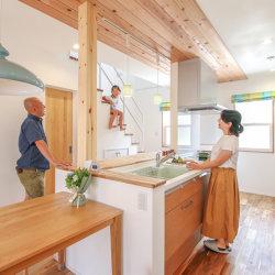 注文住宅レポート#061 菊川市柳 「アウトドアを楽しむ オープンデッキのある暮らし」