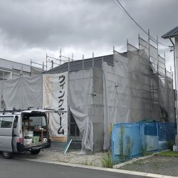 天井と養生☆ 島田市中河A様邸