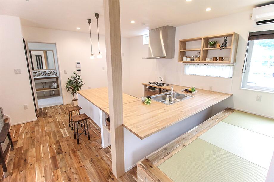 注文住宅レポート#062 牧之原市細江 「コの字型キッチンを家族で囲むお家」