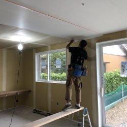 漆喰塗りの準備☆ 菊川市西方E様邸