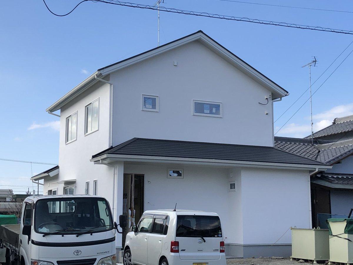 難しい姿勢☆ 掛川市下垂木S様邸