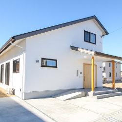 注文住宅レポート#066 菊川市加茂 「開放的なリビングと土間のある平屋風のお家」